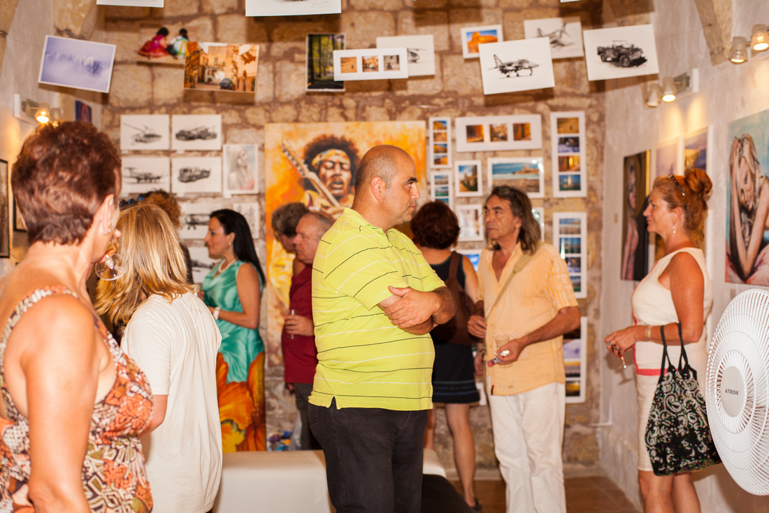Ta Nikol Gallery Opening Party